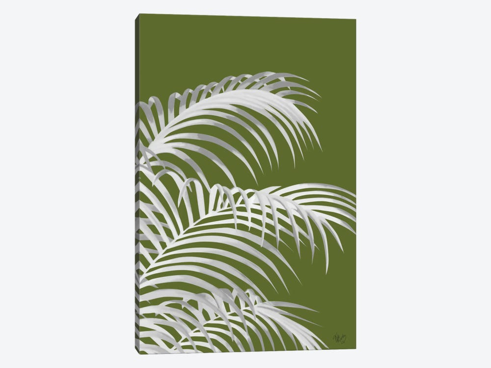 Palm Leaf IV by Fab Funky 1-piece Canvas Art