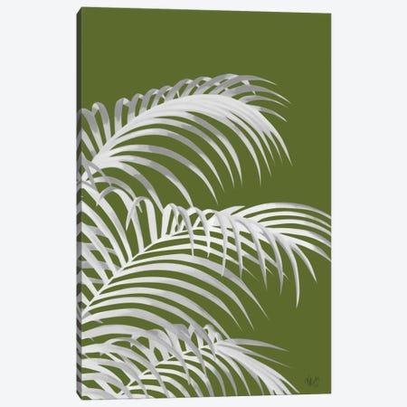 Palm Leaf IV Canvas Print #FNK388} by Fab Funky Art Print