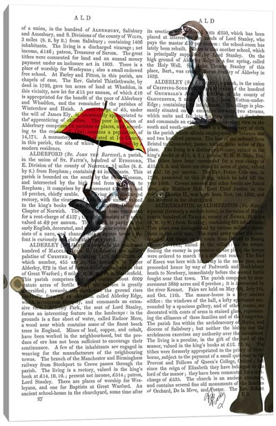 Elephant And Penguin Canvas Art Print