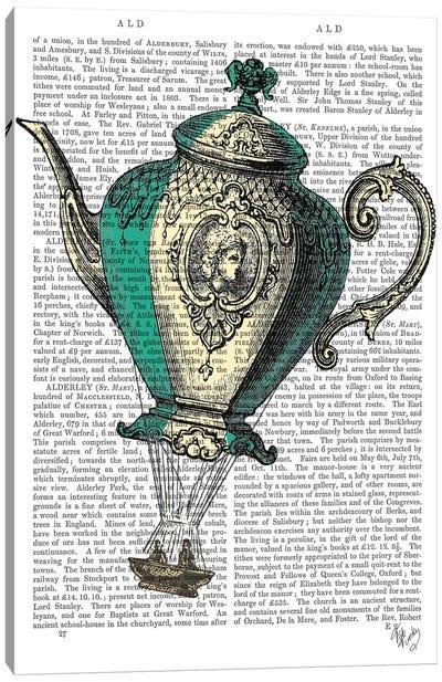 Flying Teapot I Canvas Print #FNK39