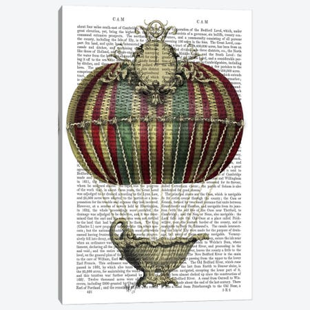Baroque Fantasy Balloon III Canvas Print #FNK3} by Fab Funky Canvas Artwork
