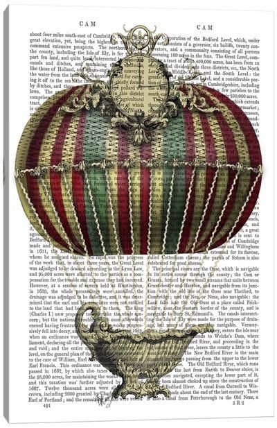 Baroque Fantasy Balloon III Canvas Print #FNK3