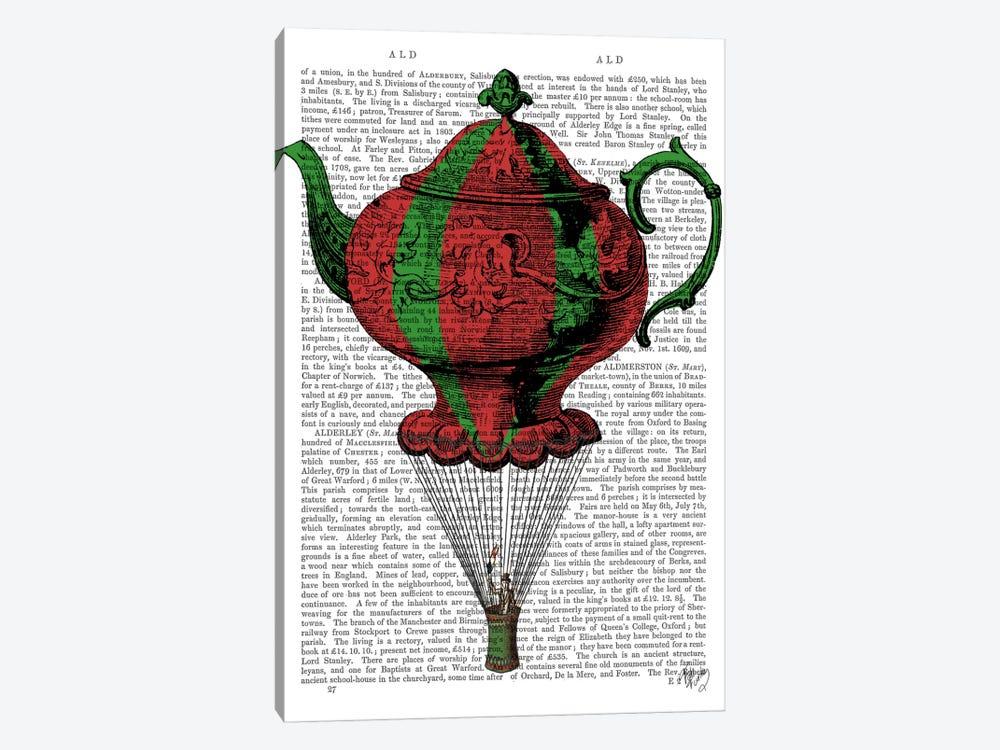 Flying Teapot II by Fab Funky 1-piece Canvas Wall Art