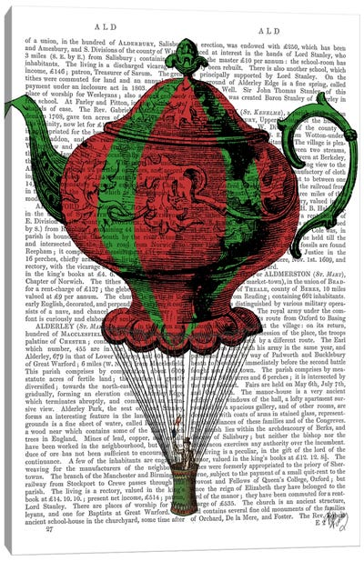 Flying Teapot II Canvas Print #FNK40