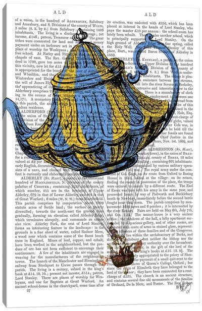 Flying Teapot III Canvas Print #FNK41
