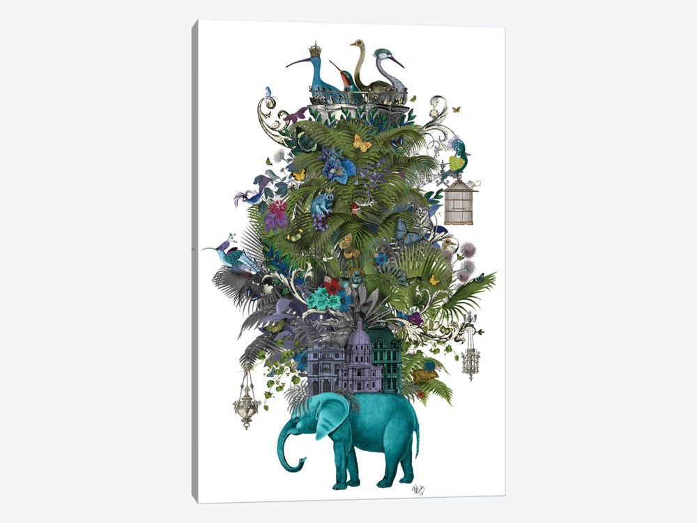 The Birdcage II by Fab Funky 1-piece Canvas Art Print