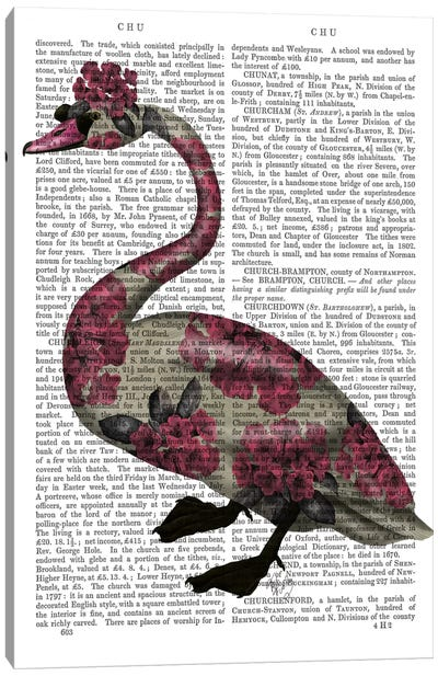 Azalea Swan Canvas Art Print