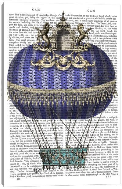 Baroque Fantasy Balloon IV Canvas Print #FNK4