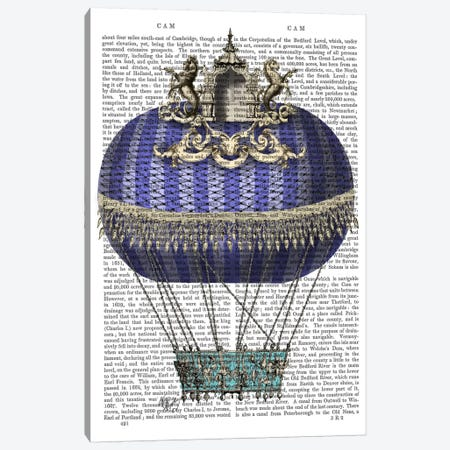 Baroque Fantasy Balloon IV 3-Piece Canvas #FNK4} by Fab Funky Canvas Art Print