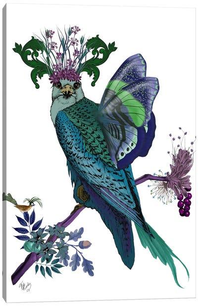 Blue Falcon Canvas Art Print