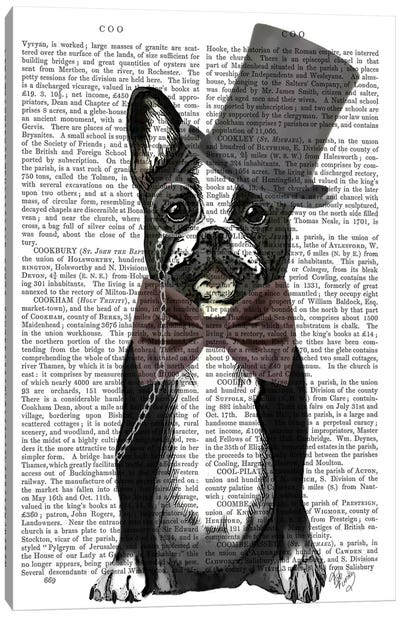 Monsieur Bulldog Canvas Art Print