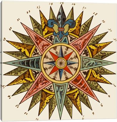 Nautical Star Canvas Art Print