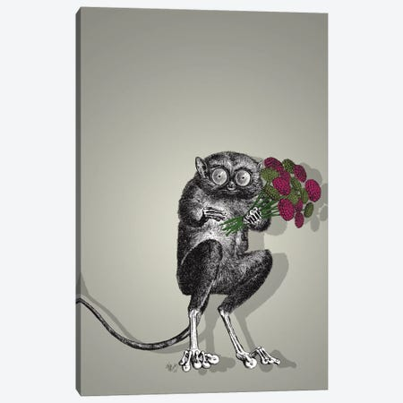 Freaky Flowers Canvas Print #FNK646} by Fab Funky Canvas Art Print
