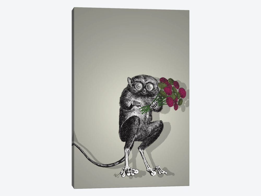 Freaky Flowers by Fab Funky 1-piece Canvas Wall Art