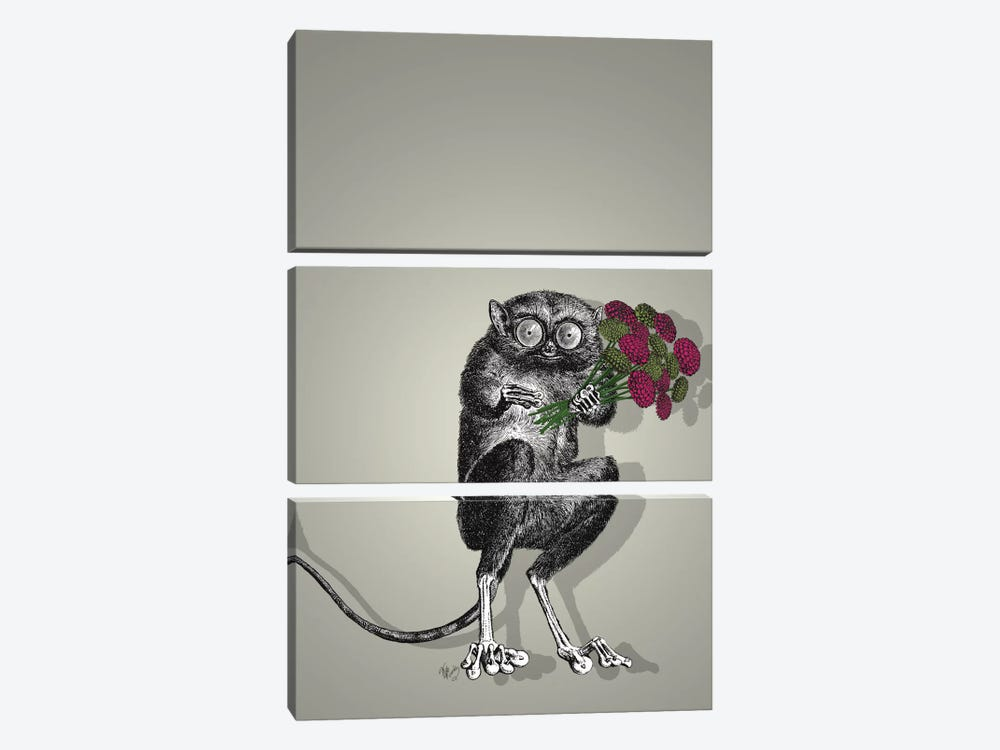 Freaky Flowers by Fab Funky 3-piece Canvas Art