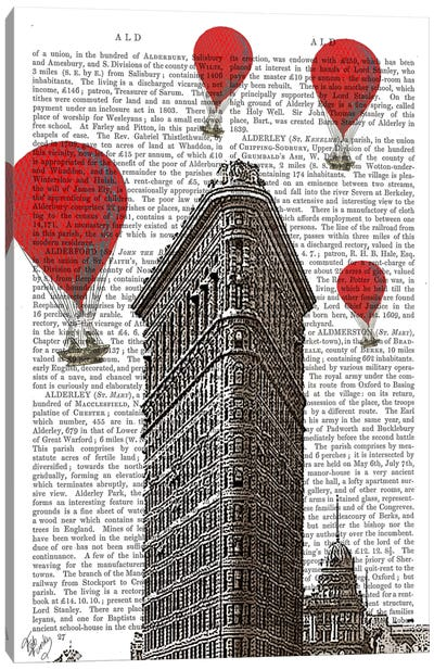 Flat Iron Building Canvas Art Print