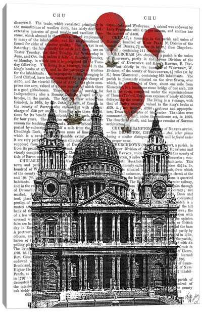 St Paul's Cathedral Canvas Art Print