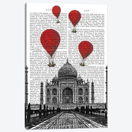 Taj Mahal Canvas Print #FNK83} by Fab Funky Art Print