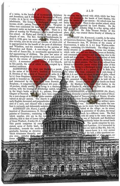 US Capitol Building Canvas Art Print