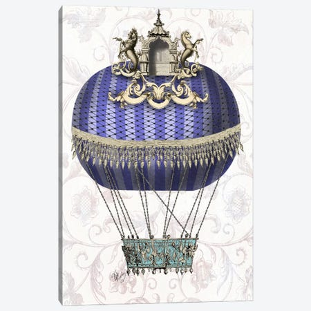 Baroque Balloon With Temple Canvas Print #FNK896} by Fab Funky Canvas Wall Art