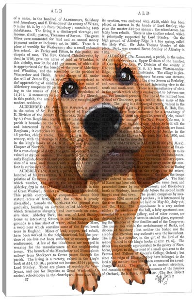Bloodhound Puppy Canvas Art Print