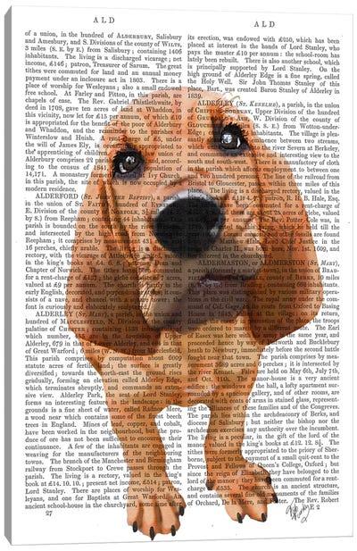 Bloodhound Puppy Canvas Art Print