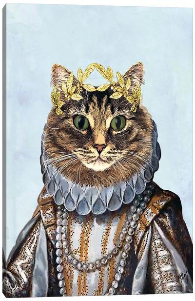 Cat Queen II Canvas Art Print