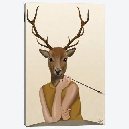 Dear Audrey Canvas Print #FNK996} by Fab Funky Art Print
