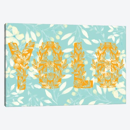 YOLO Canvas Print #FOB5} by 5by5collective Canvas Print