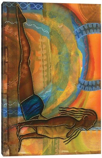 Yoga III Canvas Art Print