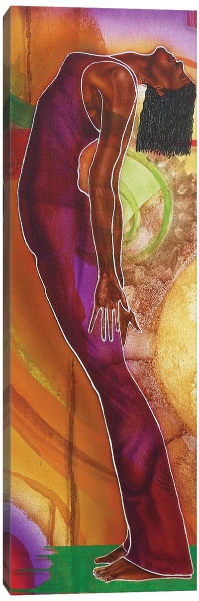 Yoga IV Canvas Art Print