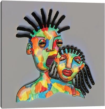 Tribal II Canvas Art Print