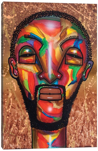 Man With Beard Canvas Art Print