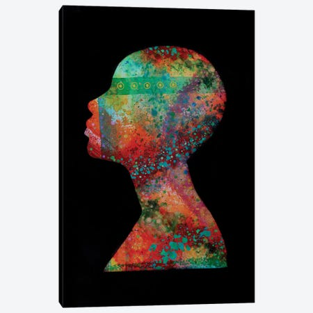 Sentient Canvas Print #FOD124} by Fred Odle Canvas Wall Art