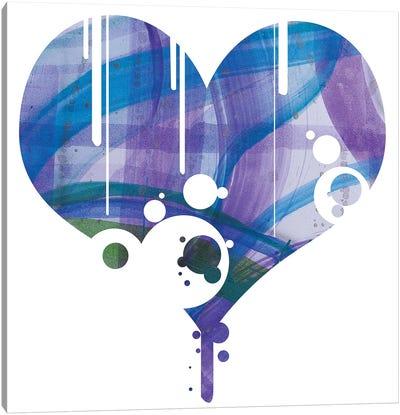 Purple Heart Canvas Art Print