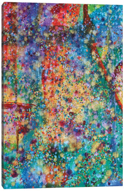 1 Cell Activity Canvas Art Print