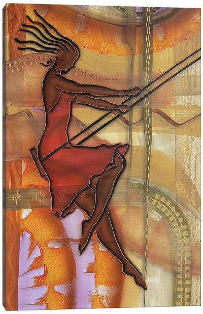 Carefree Canvas Art Print