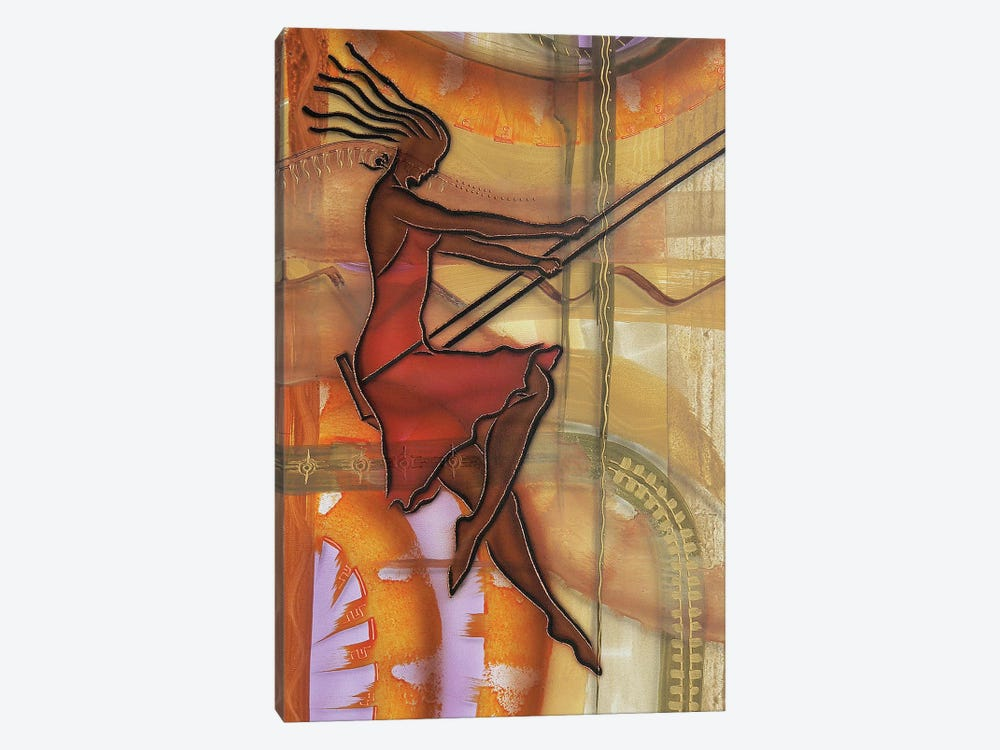 Carefree by Fred Odle 1-piece Canvas Art Print