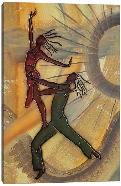 Dancers Canvas Art Print