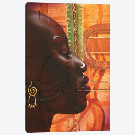 Dark And Lovely Canvas Print #FOD25} by Fred Odle Canvas Wall Art