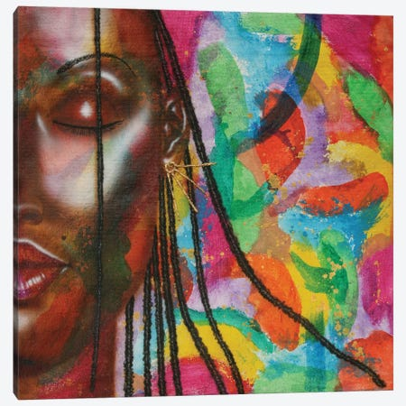 Earth Goddess Canvas Print #FOD26} by Fred Odle Canvas Artwork