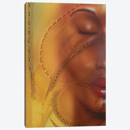 Elemental Girl Canvas Print #FOD27} by Fred Odle Canvas Art