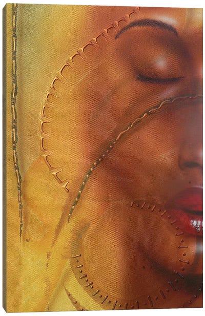 Elemental Girl Canvas Art Print