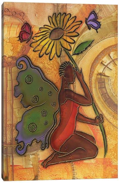 3 Butterflies Canvas Art Print
