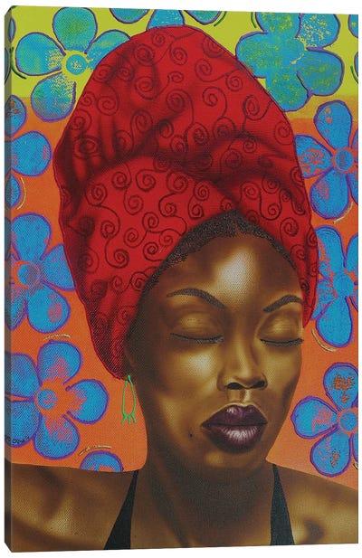 Flower Girl Canvas Art Print