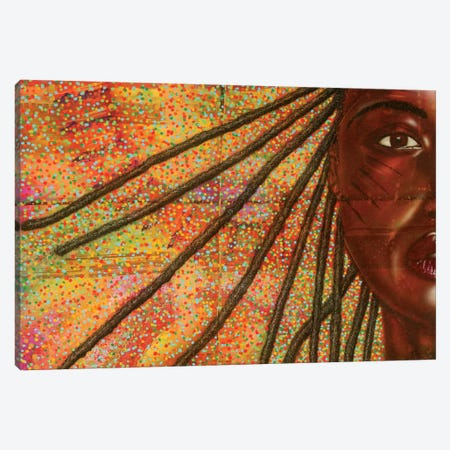 Hypnotize-Re-Boot Canvas Print #FOD39} by Fred Odle Canvas Art
