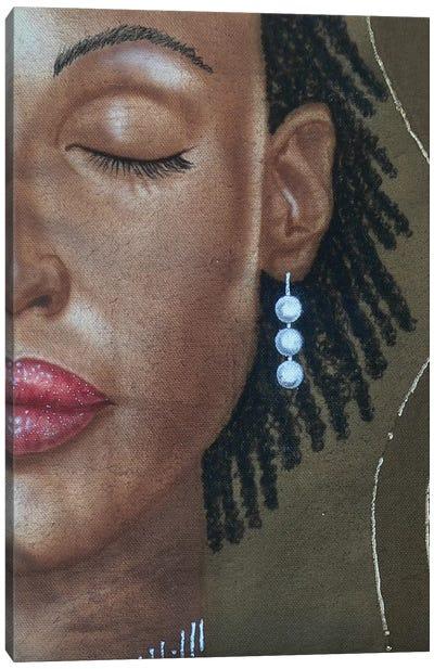 3 Pearls Canvas Art Print