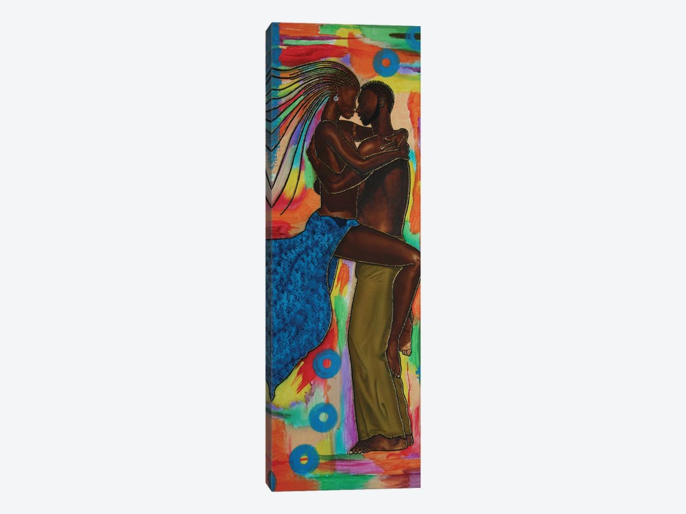 Lovers II by Fred Odle 1-piece Canvas Artwork