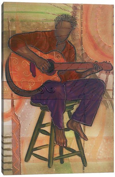 Mr Guitarman Canvas Art Print
