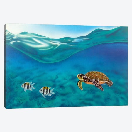 Above And Below Canvas Print #FOD6} by Fred Odle Canvas Print